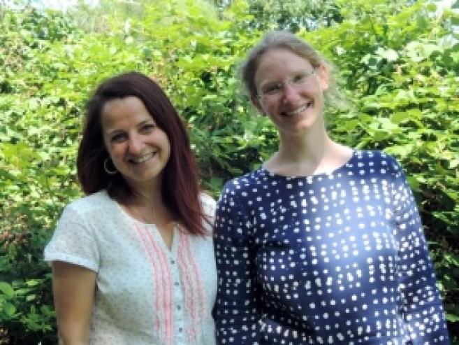 Diana Wesser and Antje Radmacker, organisers.