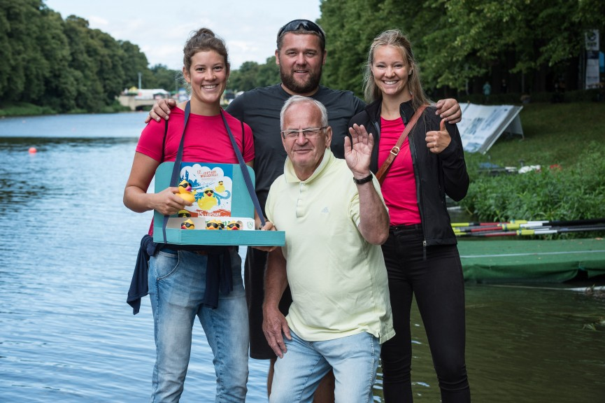 Local athletes and coaches helped with the successful organization of the weekend. (Photo: Alexander Pischke)