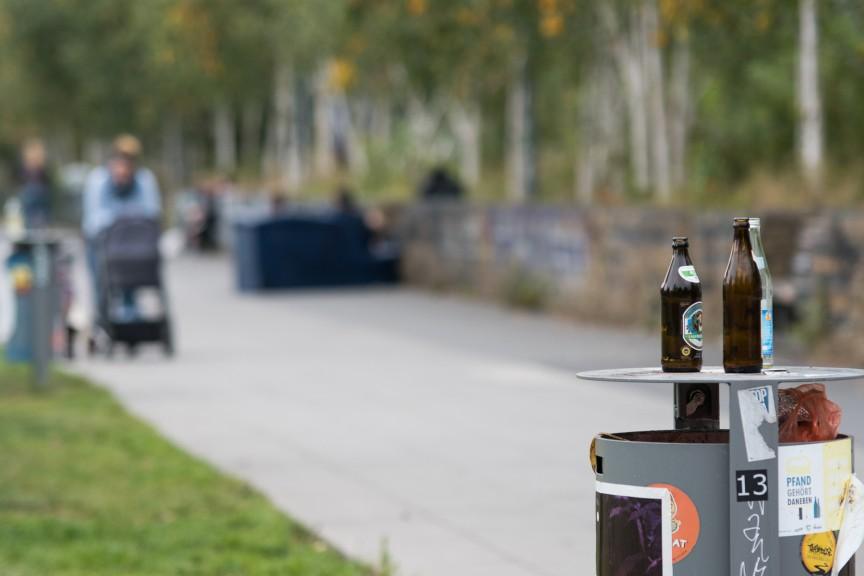 Lene-Voigt-Park, one of the Reudnitz community hubs. (Photo: Stefan Hopf)