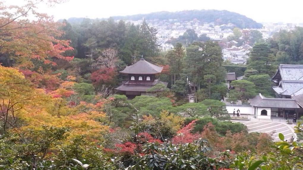 To tourists known as the Silver Pavilion, its Japanese informal name is Ginkaku-ji. The formal name is Jisho-ji. (Photo: Helena Flam)