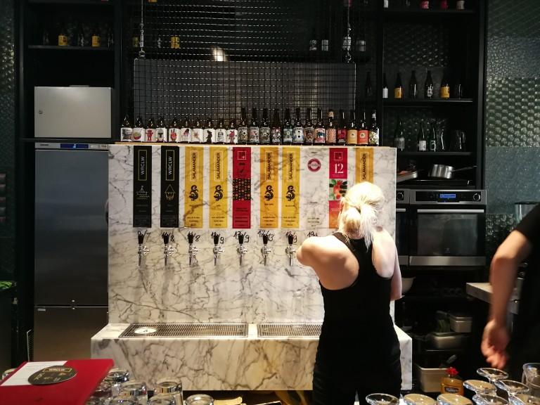 Stu Mostów brewery in Wrocław, Poland. (Photo: Chrissy Orlowski)
