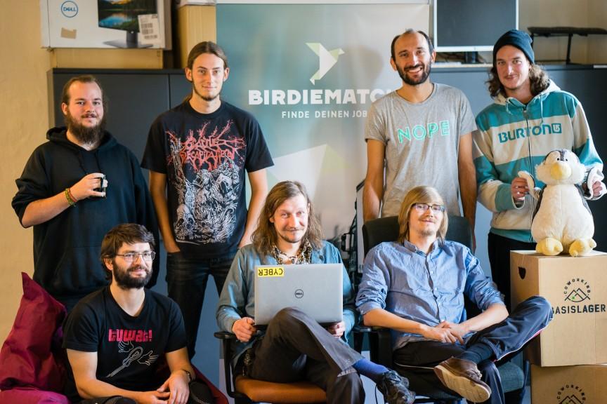 BirdieMatch team. (Photo courtesy of Stefan Daenzer)