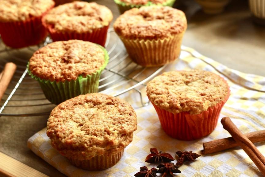 Café Oink muffins. (Photo © Café Oink)