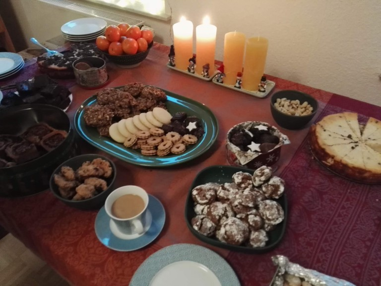 Second Sunday of the Advent season at an international friend's place. (Photo: Chrissy Orlowski)