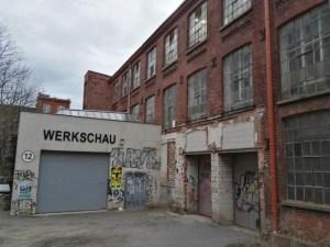 Halle 12 at Spinnerei, Plagwitz. (Photo: Chrissy Orlowski)