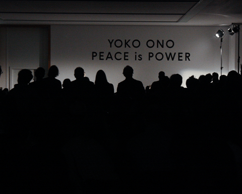 Yoko Ono retrospective, Peace is Power at MdbK. (Photo: maeshelle west-davies)