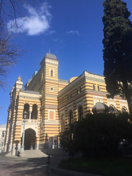 Moorish opera house in Tbilisi