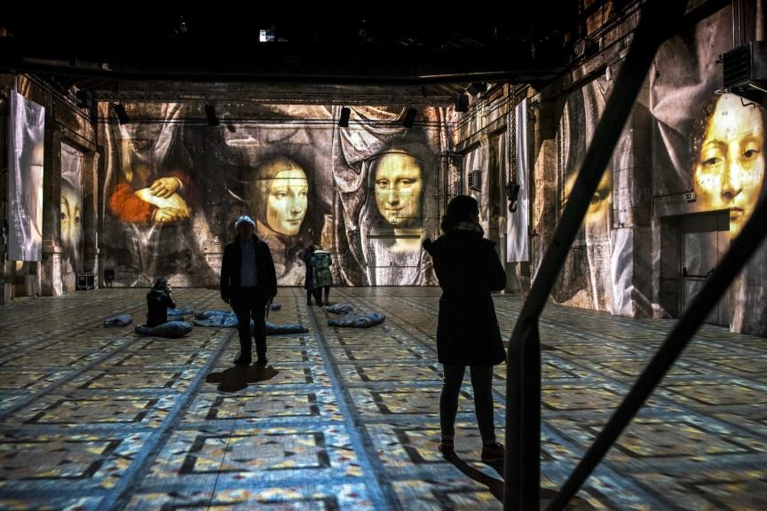 Hallucinogenic installation at KKW