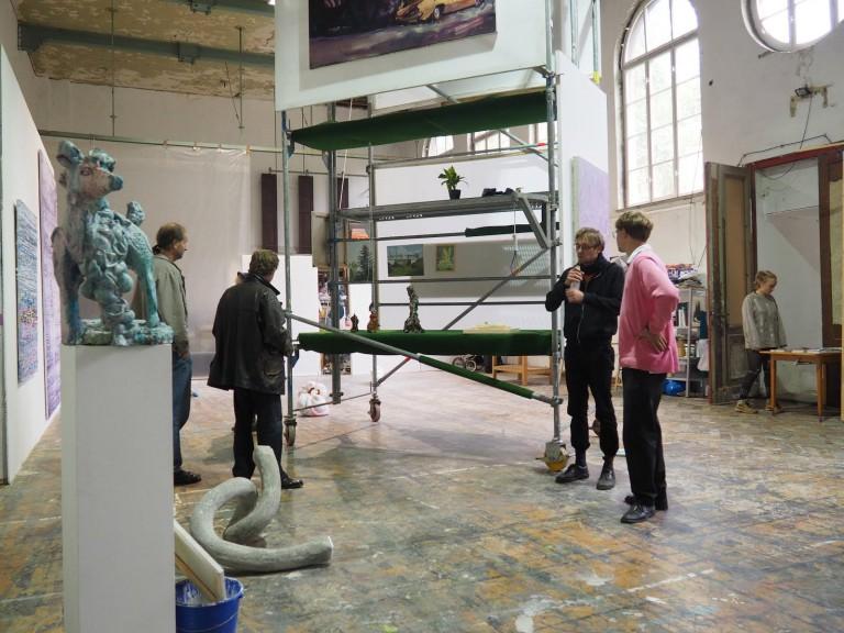 Offene Ateliers Leipzig XVII - Photo courtesy of Offene Ateliers Leipzig