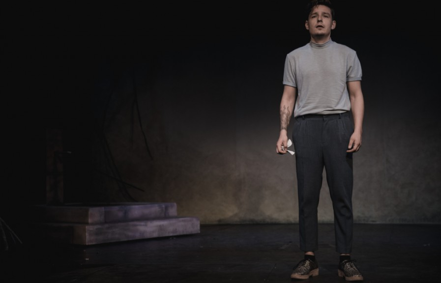 Danny Coposescu as Orpheus. Image by Jackson Quang, ETL.