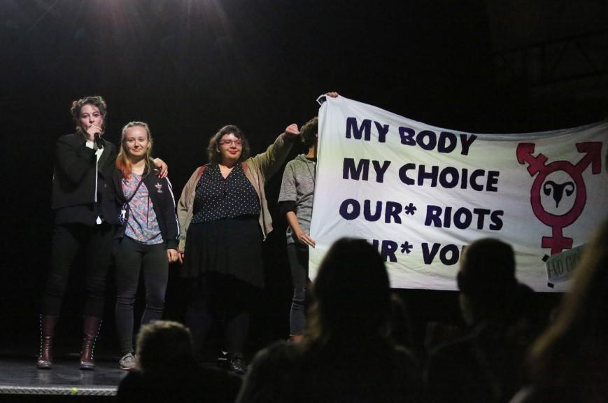 Leipzig activists Palmer concert