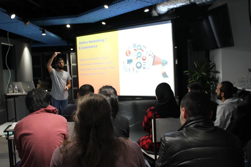 Digital Career Institute info event