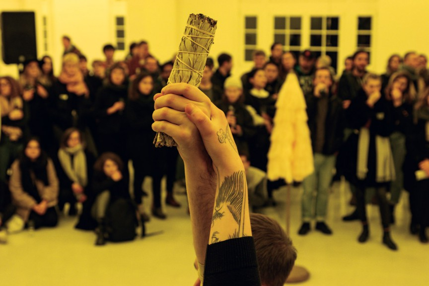 """Exhibition """"We All Should Be Lichens"""", A&O Kunsthalle"""