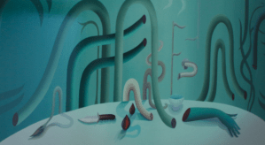 Igor Hosnedl, Water from Green Wall, 2020, reloaded at EIGEN + ART, photo: maeshelle west-davies, EIGEN + ART