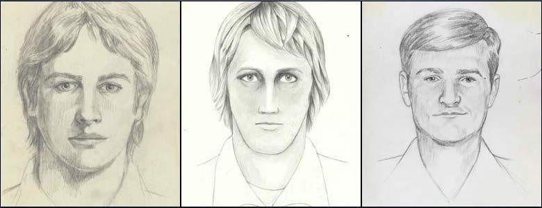 East Area Rapist police sketches