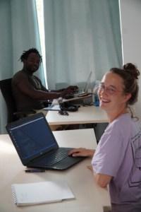 Code Camp Leipzig students