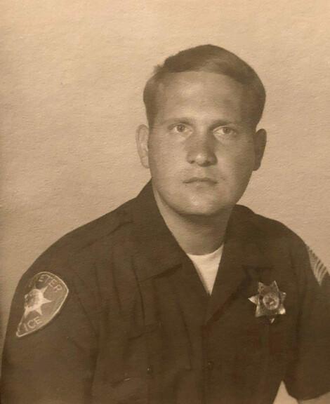 Joseph James DeAngelo in 1973, Santa Barbara Sheriff's Office, Exeter Police Department