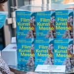 Filmkunstmesse Leipzig Stand in den Passage Kinos am 14.09.2020