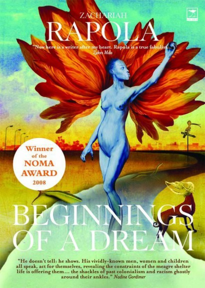Beginnings of a Dream by Zachariah Rapola cover with sticker