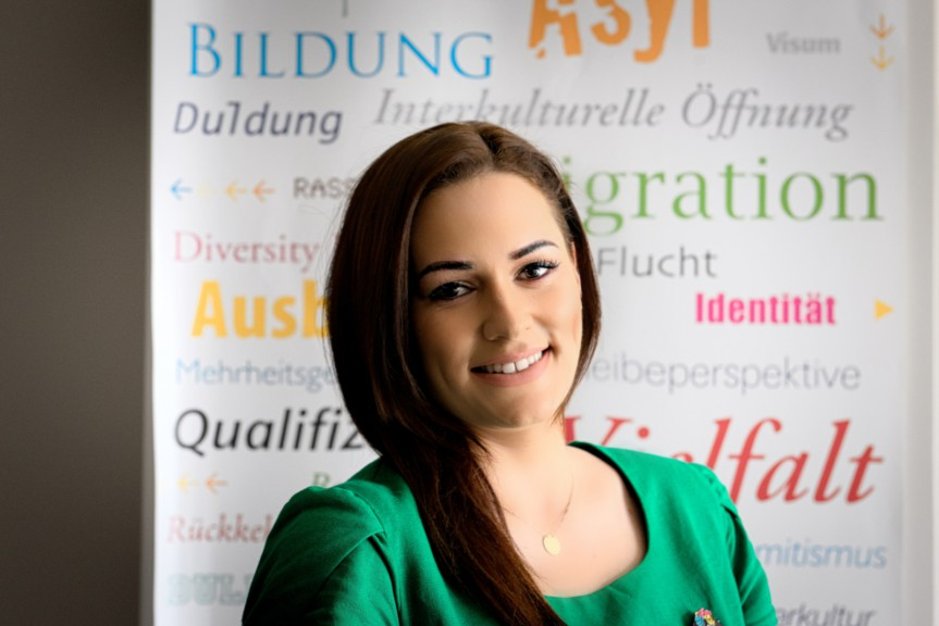 Andreea-Madalina Moises, Career Hacks vol. 4 presenter, Welcome Centre Leipzig.