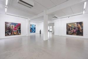G2 Kunsthalle gallery, installation view, Neo Rauch exhibition, photo: Dotgain