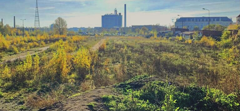 Picture of the brownfield by Carina Rastan