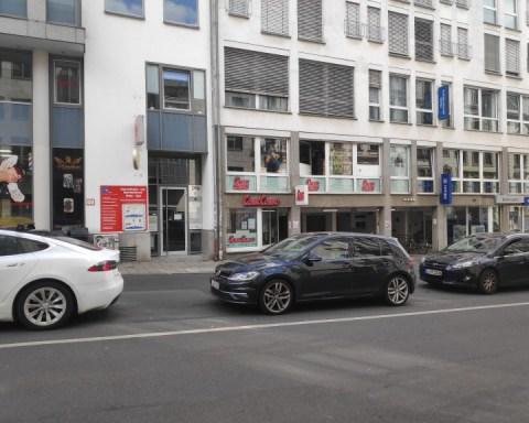 Comic book shop Comic Combo in Leipzig, Südvorstadt.