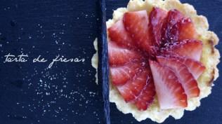 Mini tarta de fresas