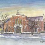 Historic building: Church of the Resurrection, Lansing, MI