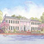 Historic house portrait: Georgetown, Washington DC