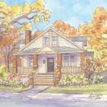 Craftsman Home in Arlington Virginia