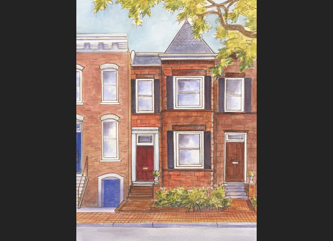 Massachusetts-Boston-Victorian-Rowhouses-