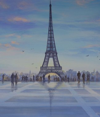 Eiffel-Tower---Acrylic-on-Canvas---20-x-24-inches---$850-small