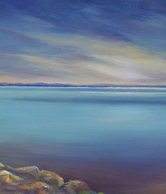Lake-Waikaurimoana-NZ---Acrylic-on-Canvas---18-x-35-inches---$950small