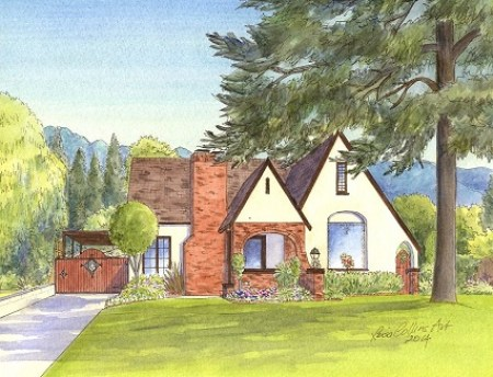 Tudor Cottage in Burbank