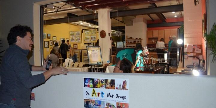 Do Art Not Drugs Show a Hit!