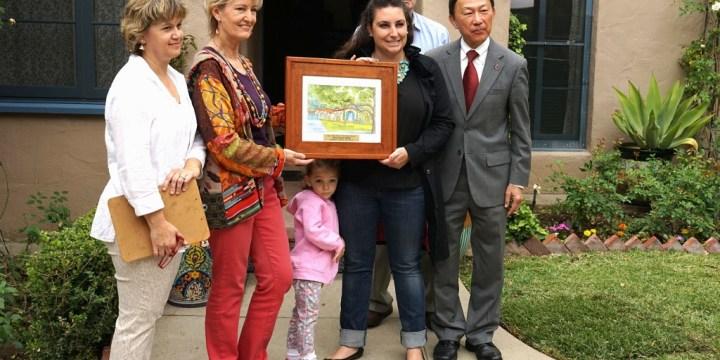 My latest Historic Preservation Award – San Marino, CA!