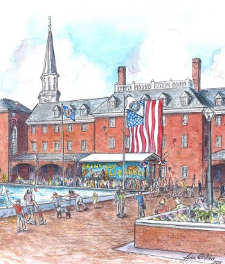 OPTMarket Square. Old Town Alexandria  - SOLD