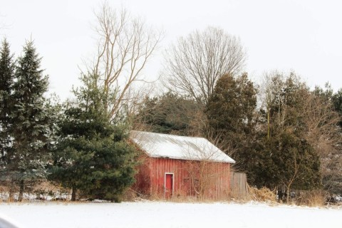 Barn in Indiana