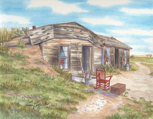 Historic Sod Prairie Homestead, Philip SD