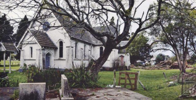 The Toko Toru Tapu Church in 2010 before the restoration.