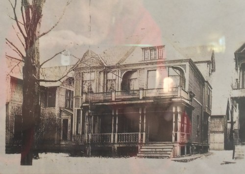 A historic photo of the Paris Ave Victorian