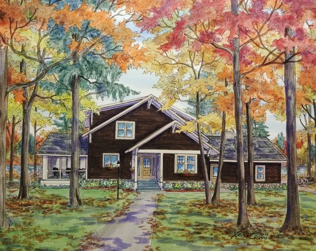 Caretaker's Cottage at Notre Dam University