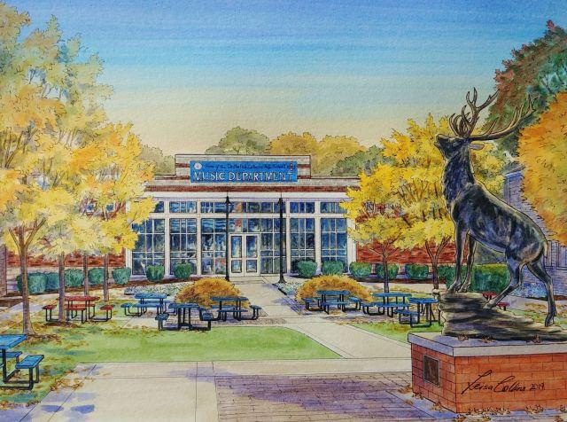 DeMatha Catholic High School Music Department Building, Hyattsville, MD