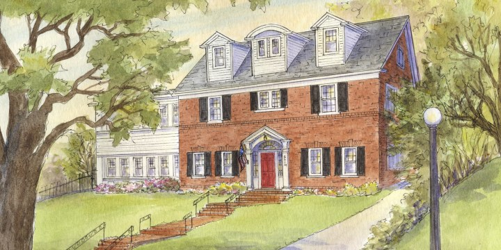 House Portrait – from Drab Winter to Vibrant Summer