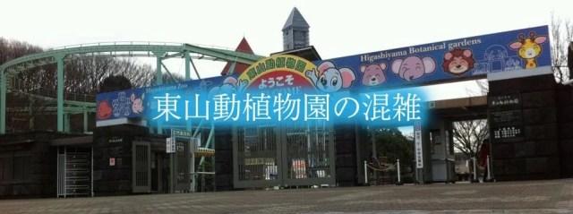 東山動植物園の全景