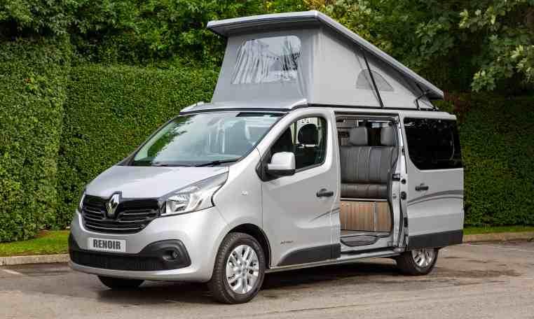 campervans for sale North West open top