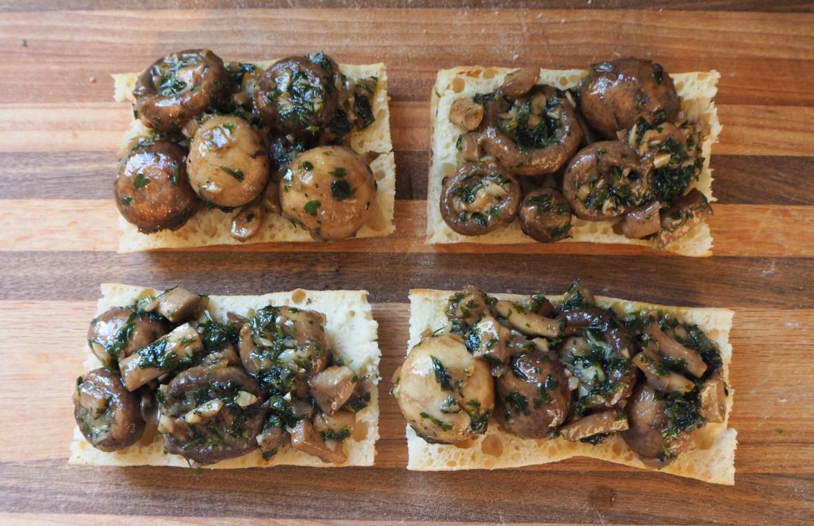 faux escargot toast