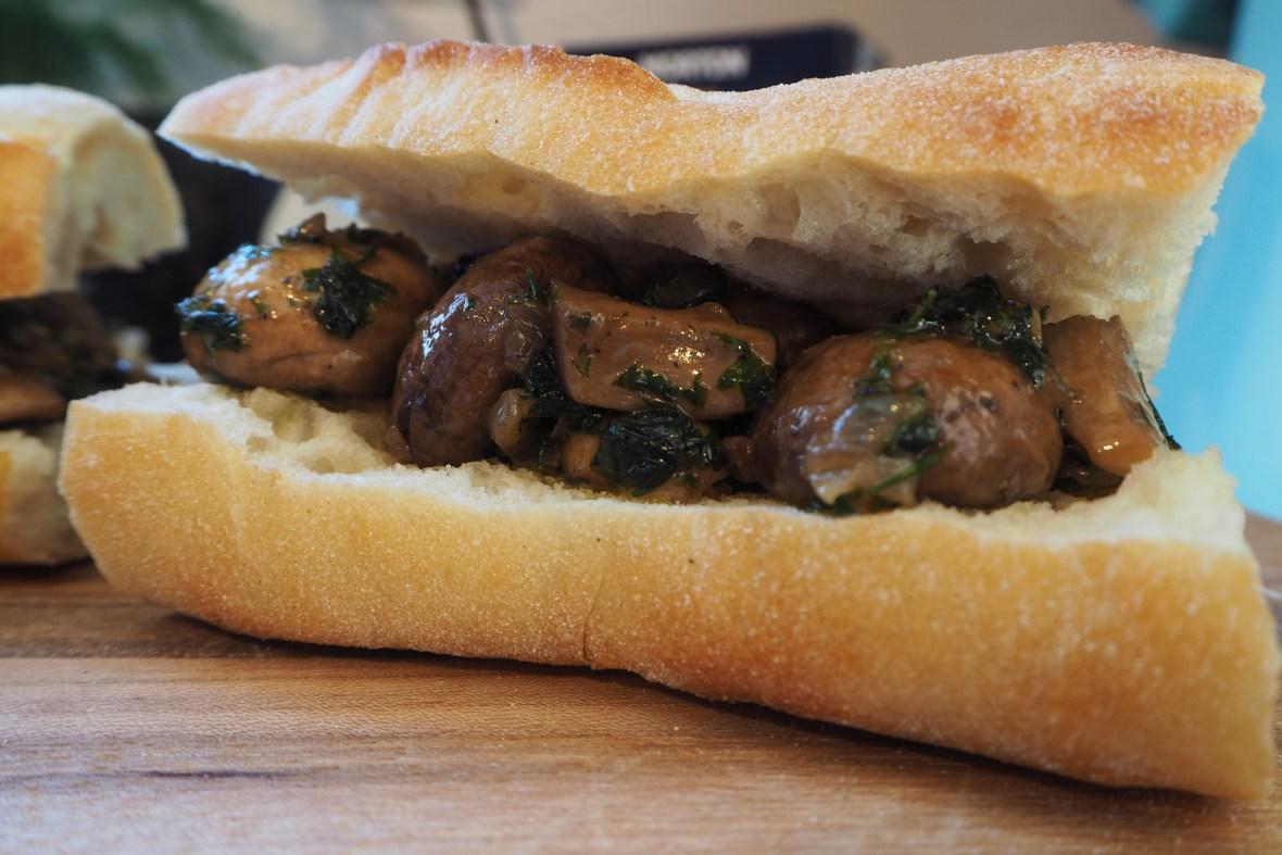 Faux Escargot Sandwich