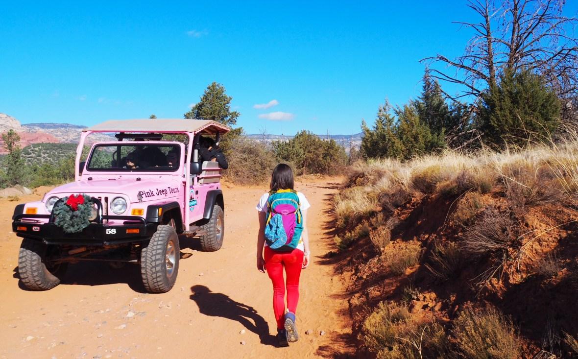 The Devil's Bridge Trail (Sedona, Arizona)